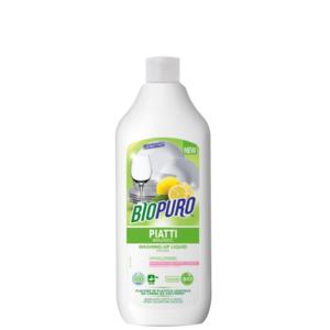 Detersivo concentrato per piatti - pelli sensibili (100 lavaggi) 500 ml Biopuro