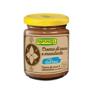 Crema di cocco e mandorle con datteri Rapunzel 250 g
