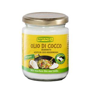 Olio di cocco deodorato Rapunzel 200 g data di scadenza 17/08/2022