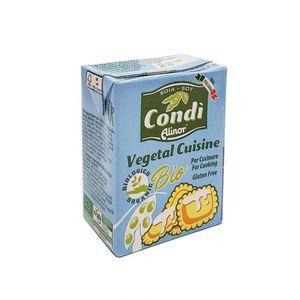 Vegetal cuisine a base di soia Condì Alinor 200 ml data di scadenza 04/02/2022