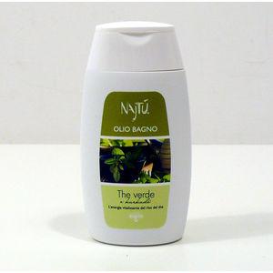 Olio Bagno 100 ml Najtù  The Verde e Karkadè