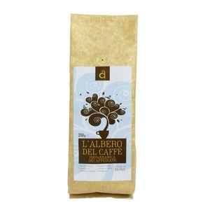 Caffè decaffeinato 100% arabica L'Albero del Caffè 250 g data di scadenza 02/02/2023