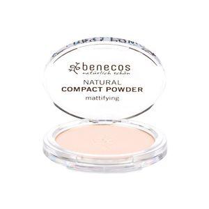 Cipria compatta - fair -beige chiaro lievemente rosato- Benecos 9 g