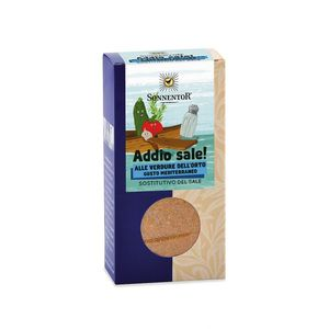 Condimento addio sale! sostitutivo del sale - gusto mediterraneo Sonnentor 55g