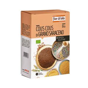 Cous cous di grano saraceno senza glutine Fior di Loto 500 g