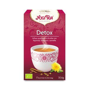 Yogi tea detox liquirizia tarassaco e anice Yogi Tea 30,6 g - 17 flt