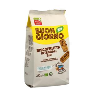 Biscofrutta integrali Bio 250g Buongiornobio La Finestra sul Cielo