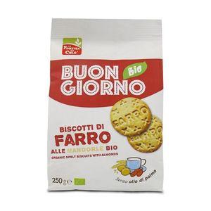 Biscotti 100% farro alle mandorle 250g Buongiorno La Finestra sul Cielo