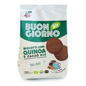 Biscotti con quinoa e cacao 250g Buongiornobio