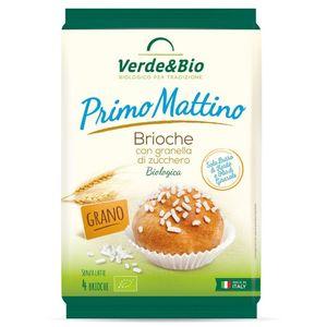 Brioche con granella di zucchero Primo Mattino Verde & Bio 180 g