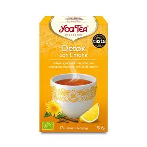 Tisana Detox con limone Yogi Tea Conf.  30,6 g - 17 flt