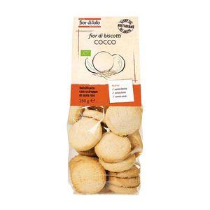 Fior di Biscotti al cocco Fior di Loto Conf. 250 g scadenza 04/03/2022