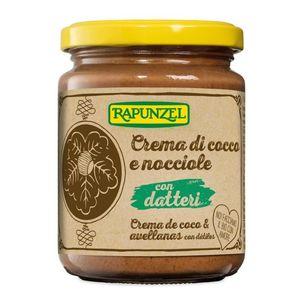 Crema di cocco e nocciole con datteri Rapunzel Conf. 250 g scadenza 30/04/2023