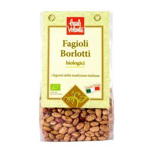 Fagioli borlotti Italiani Baule Volante Conf. 300 g scadenza 14/01/2023