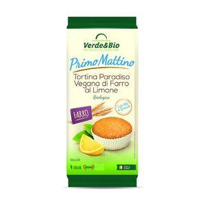 Tortina Paradiso vegana di farro al limone Verde & Bio 200 g scadenza 07/09/2021