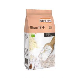 Farina di teff Fior di Loto 375 g scadenza 10/12/2022