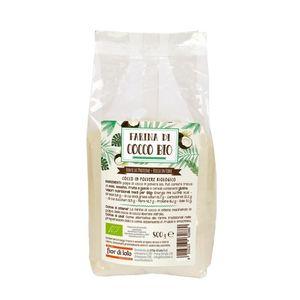 Farina di cocco Fior di Loto 500 g scadenza 01/07/2022
