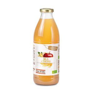 Succo di mela e zenzero Fior di Loto Conf. 750 ml scadenza 28/05/2023