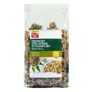 Crunchy con avena e semi di canapa La Finestra sul Cielo 375 g scadenza 03/12/2021