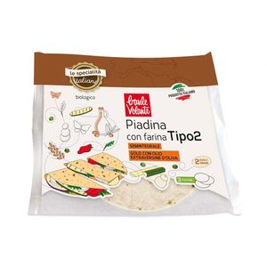 Piadina con farina tipo 2 senza lievito Baule Volante Conf. 240 g - 3 piadine Scadenza 25/10/2021