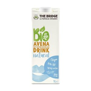 Bevanda vegetale Bio Drink Avena Natural The Bridge Conf.1000 ml Scadenza 19/07/2022