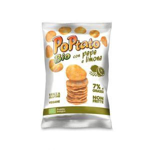 Patatine pepe e limone PoPtato Conf. 40 g Scadenza 02/05/2022