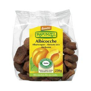 Albicocche intere dolci senza nocciolo Rapunzel Conf. 250 gr Scadenza 14/08/2022