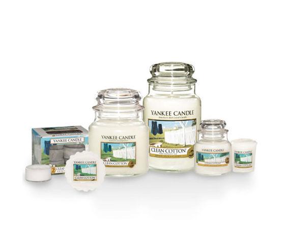 Yankee candle clean cotton medium jar candle jars 014326 hi res 2