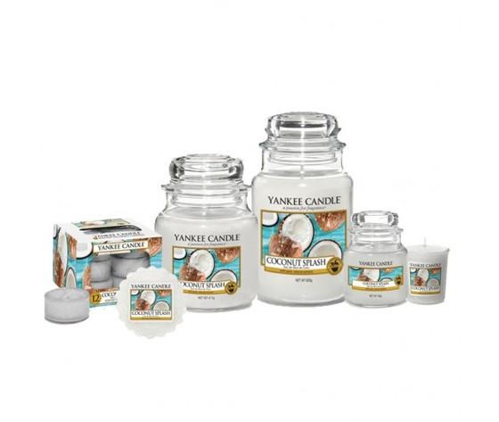 Coconut splash yankee candle family big