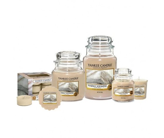 Warm cashmere yankee candle family big