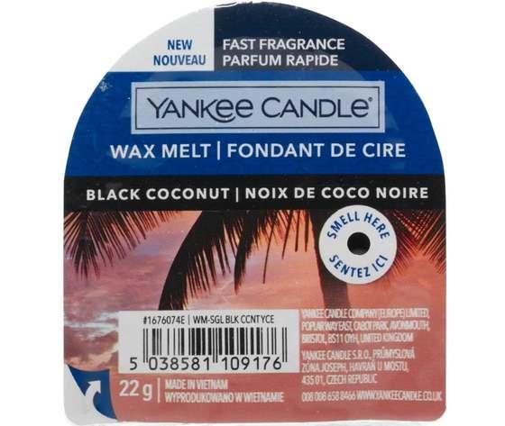 Yankee candle black coconut wax melt p17425 33492 image