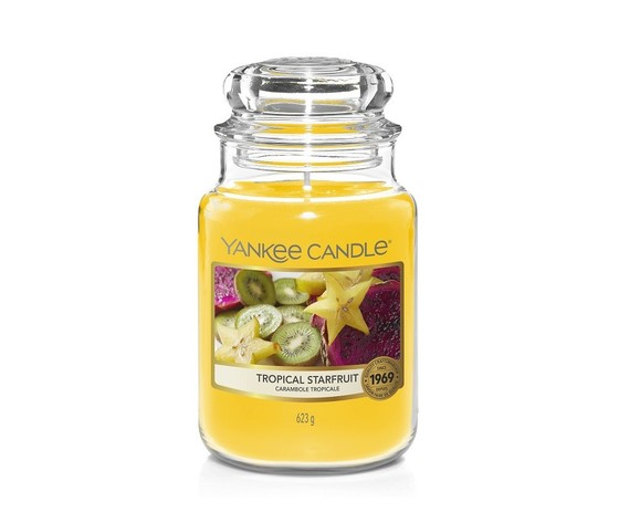 Tropical starfruit giara grande yankee candle