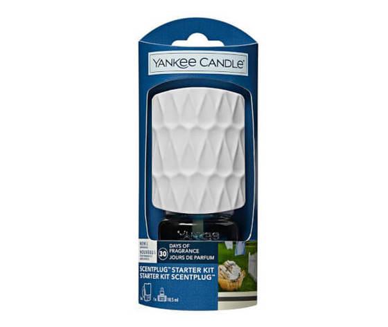 Yankee candle elektricky difuzer do zasuvky organic kit clean cotton 18 5 ml 1469937920201030134817