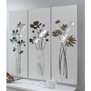 Set pannelli decorativi I fiori del re