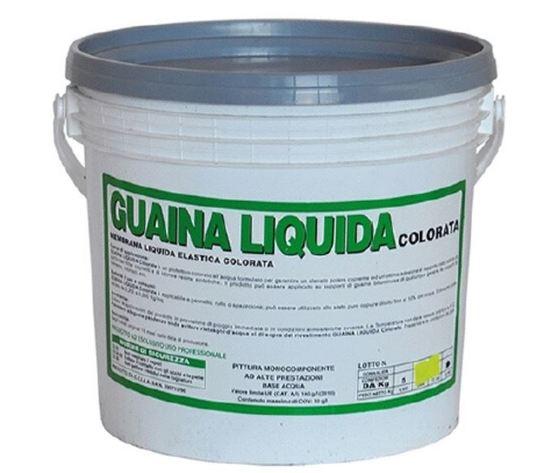 Guaina liquida colorata