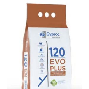 STUCCO GYPROC PER CARTONGESSO EVOPLUS 120 DA 10 KG