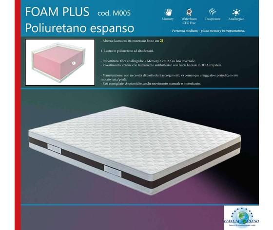 Foam plus m005