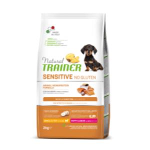 puppy junior salmone e cereali integrali 02 kg
