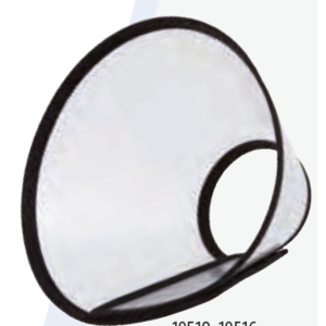 COLLARE ELISABETTA CON CHIUSURA A STRAPPO XS-S 20-26 CM 11 CM