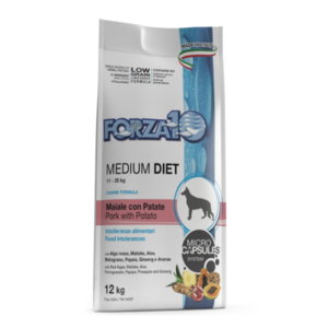 FORZA 10 MEDIUM DIET MAIALE PATATE 12 KG