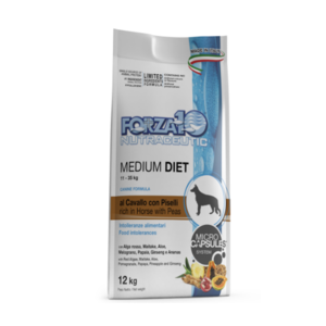 MEDIUM DIET FORZA 10 CAVALLO LOW GRAIN 12 KG