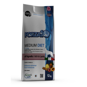 MEDIUM DIET AGNELLO 12KG FORZA 10