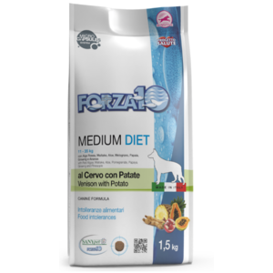 MEDIUM DIET CERVO PATATE 1,5KG FORZA 10