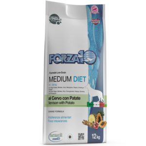 MEDIUM DIET CERVO PATATE 12KG FORZA 10
