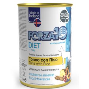 UMIDO DIET HYPOALLERGENIC TONNO RISO FORZA 10