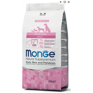 MONGE ALLBREEDS ADULT MAIALE RISO PATATE 12 KG