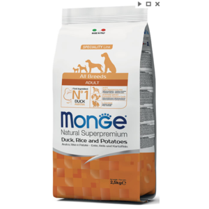 MONGE ALLBREEDS ANATRA RISO PATATE 12 KG