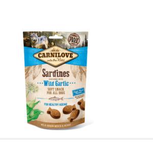 SNACK CARNILOVE SARDINE CON AGLIO ORSINO 200 GR