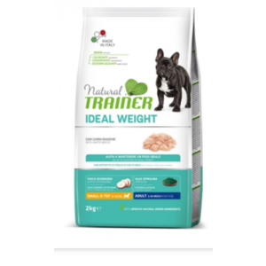 TRAINER IDEAL WEIGHT SMALL E TOY ADULT CARNI BIANCHE 2 KG