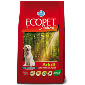 ECOPET FARMINA ADULT   MEDIUM 12 KG